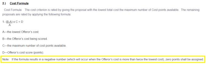 cost formula